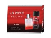 [La Rive kazeta Red Line (toaletná voda + dezodorant)]