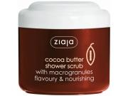[KAKAO Čokoládový telový sprchový peeling s makrogranulkami s kakaovým maslom]