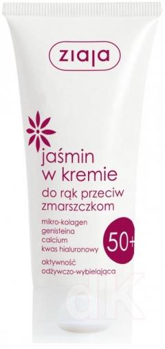 JAZMÍN Krém na ruky proti vráskam s jazmínovým olejom a kyselinou hyaluronovou