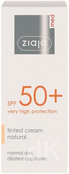 ZIAJA MED SPF50+ Tónovací pleťový krém 50 ml
