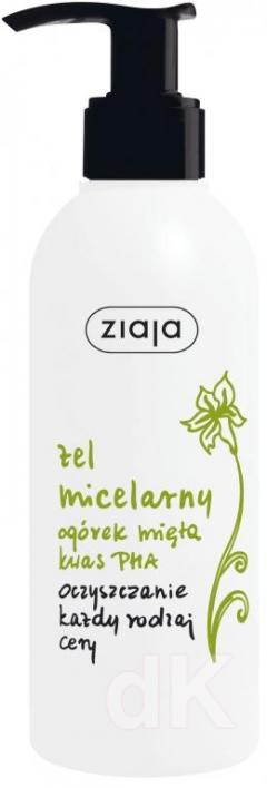 ZIAJA UHORKA-MäTA-KYSELINA PHA Micelárny čistiaci gél 200 ml