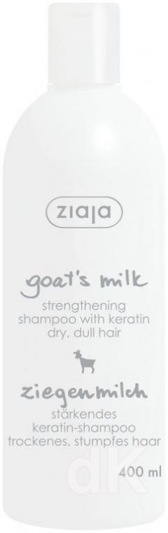 ZIAJA KOZIE MLIEKO Šampón na vlasy 400 ml