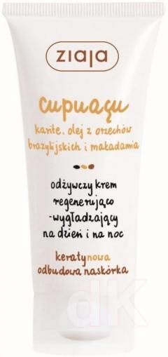 CUPUACU Regeneračno-vyhlazdujúci krém na deň/noc