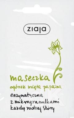 ZIAJA UHORKA-MäTA-KYSELINA PHA Enzymatická pleťová maska 7 ml