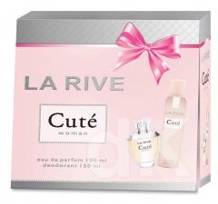 La Rive kazeta dámska CUTÉ (EDP + DEO)