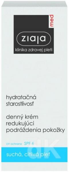ZIAJA MED Hydratačná starostlivosť - Denný krém 50 ml
