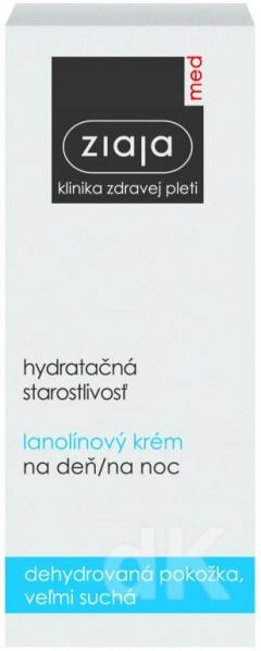 ZIAJA MED Hydratačná starostlivosť - Lanolínový krém 50 ml