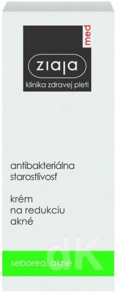 ZIAJA MED  Antibakteriálna starostlivosť - Krém na redukciu akné 50 ml
