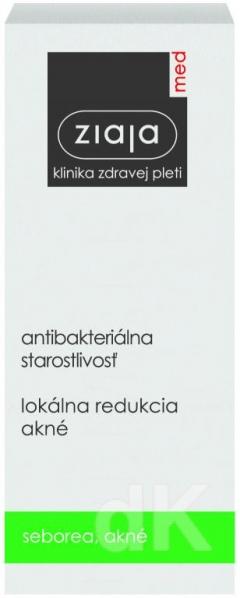 ZIAJA MED Antibakteriálna starostlivosť - Lokálna redukcia akné 15 ml