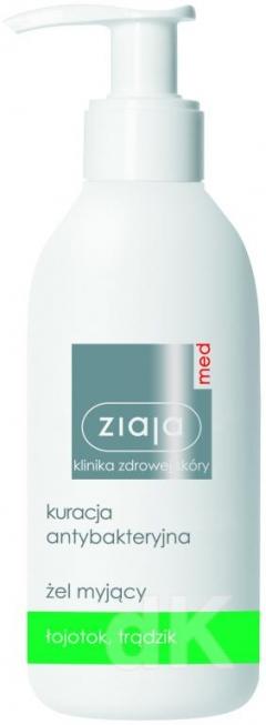 ZIAJA MED Antibakteriálna starostlivosť - Gél na umývanie pokožky 200 ml