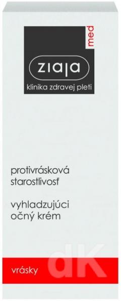 ZIAJA MED Protivrásková starostlivosť - Vyhladzujúci očný krém 15 ml