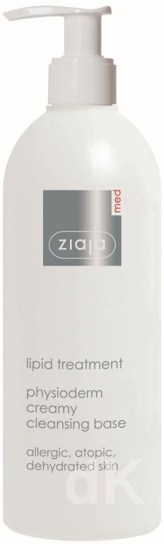 ZIAJA MED Lipidová starostlivosť - Fyzioderm krémová umývacia emulzia 400 ml