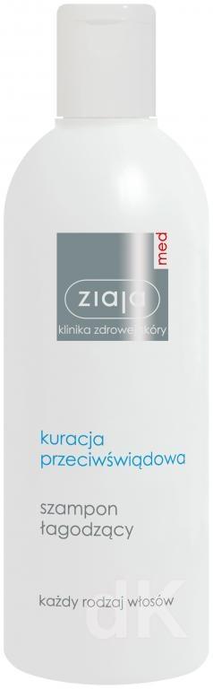 ZIAJA MED Starostlivosť proti svrbeniu - Šampón upokojujúci 300 ml
