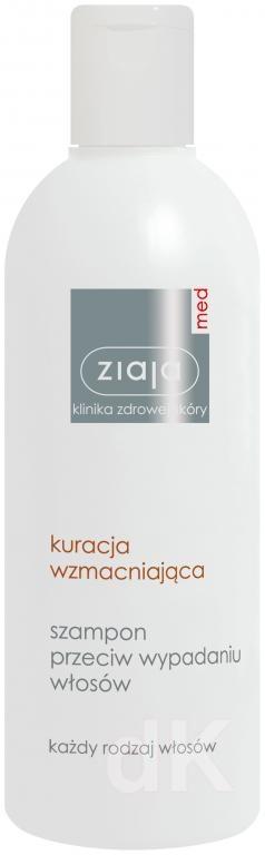 ZIAJA MED Starostlivosť pre posilnenie vlasov - Šampón proti vypadávaniu vlasov 300 ml