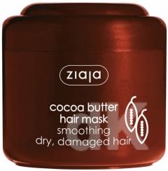 KAKAO Vyhladzujúca maska na suché a zničené vlasy s kakaovým maslom