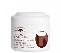 KOKOS Telové maslo s lipidmi kokosového orecha