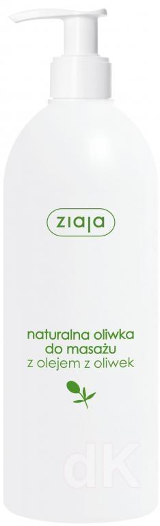 ZIAJA OLIVA Masážny prírodný olivový olej 500 ml