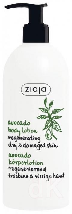 AVOKÁDO Regeneračné telové mlieko s avokádovým olejom