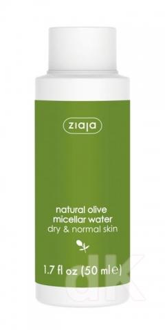 ZIAJA TRAVEL SIZE Micelárna voda prírodná oliva 50 ml