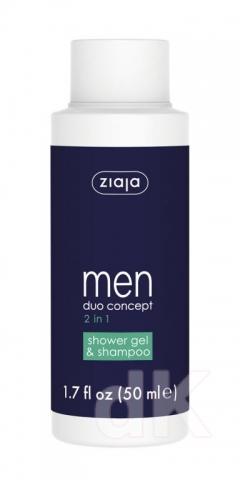 ZIAJA TRAVEL SIZE Men Sprchový gél a šampón 2v1 50 ml