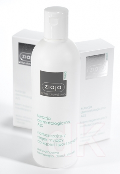 ZIAJA MED Atopická dermatitída - Hydratačný olej na umývanie a do kúpeľa 270 ml